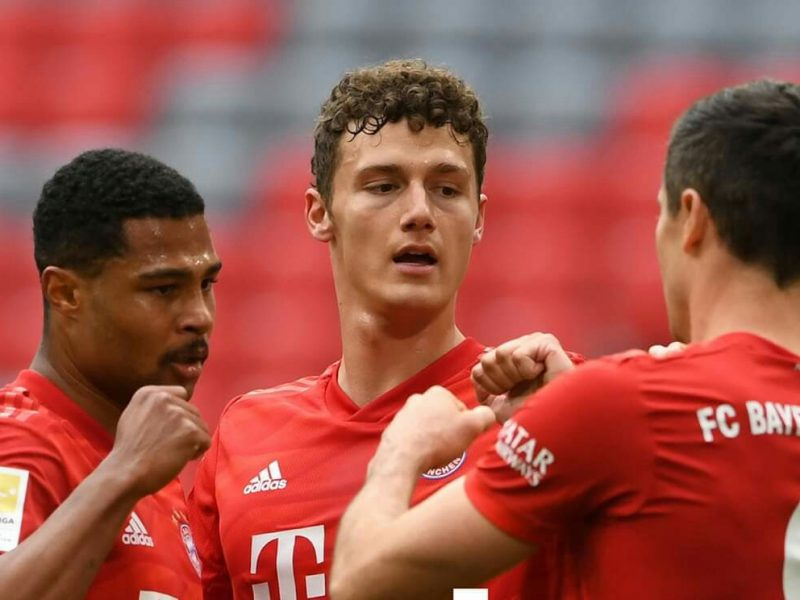 نتيجة الشوط الأول مباراة بايرن ميونخ وفورتونا دوسلدورف في الدوري الألماني