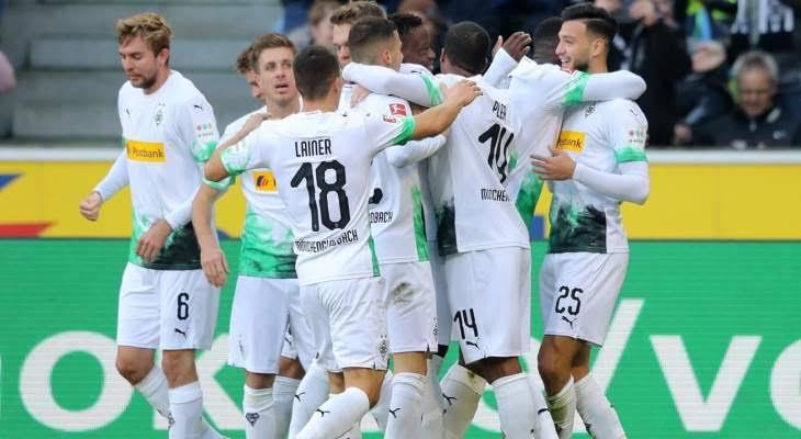 نتيجة مباراة بوروسيا مونشنجلادباخ وفولفسبورج اليوم السبت 17-10-2020 الدوري الالماني