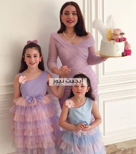 ابنة هيفاء وهبي تحتفل بعيد ميلادها مع ابنتيها