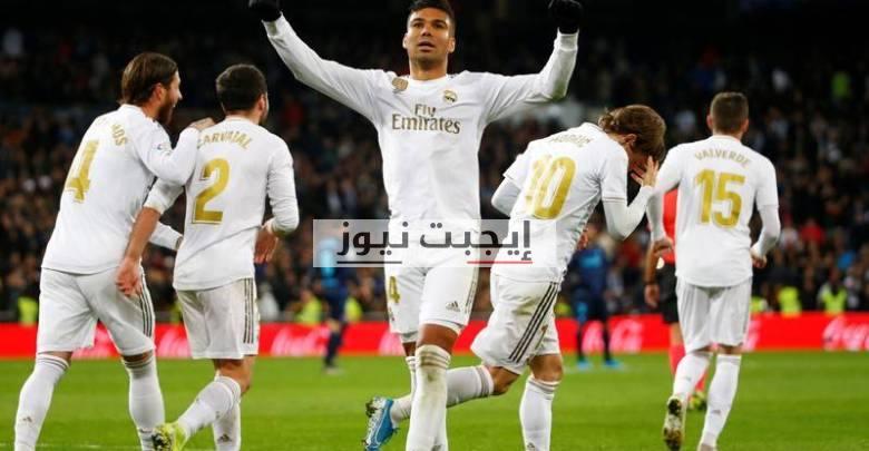 ريال مدريد يقضي علي فالنسيا بثلاثية في الدوري الإسباني