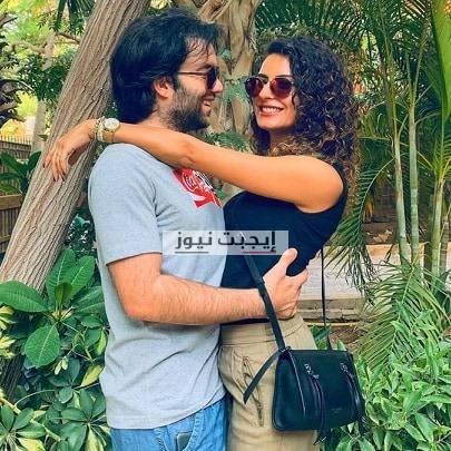 ريهام ايمن مع زوجها شريف رمزي