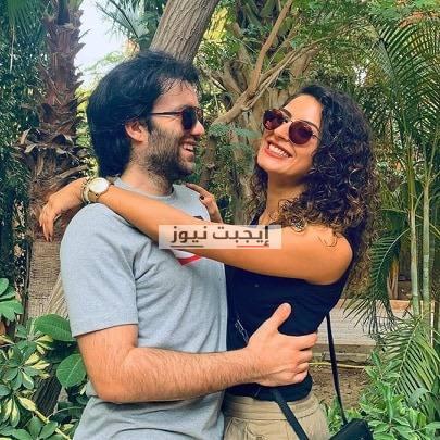 ريهام ايمن وزوجها شريف رمزي