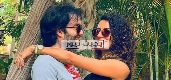 ريهام ايمن توجه رسالة رومانسية الى زوجها شريف رمزي