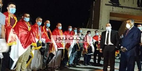 عودة أبناء بني سويف من ليبيا سالمين وفرحة تعم المحافظة