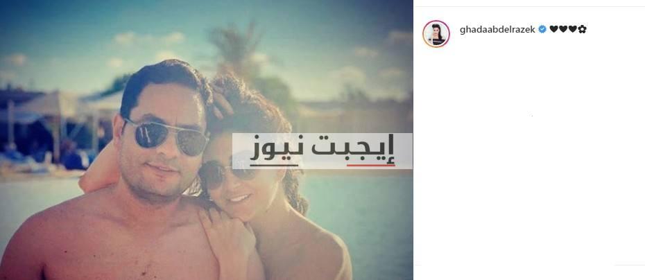 غادة عبد الرازق على الانستجرام