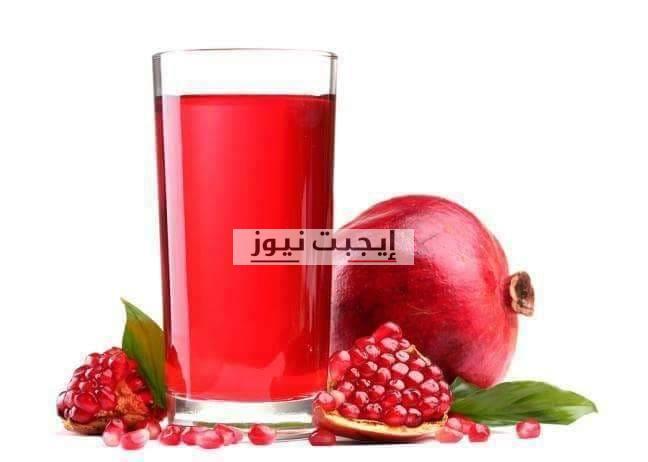 فوائد عصير الرمان الصحية للجسم والبشرة