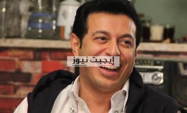 مصطفى شعبان يحتفل بعيد الاب العالمي