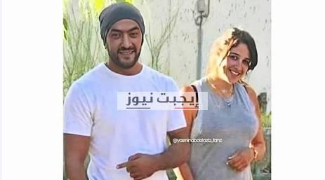 ياسمين عبد العزيز في ظهور جديد مع زوجها احمد العوضي