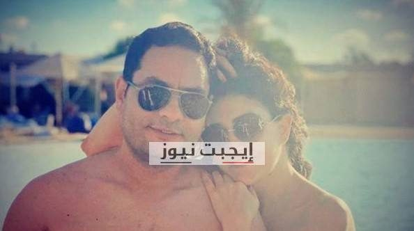 غادة عبد الرازق في احدث ظهور لها مع زوجها خلال اجازتها الصيفية