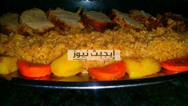 طريقة عمل الأرز بالجزر والقرفة