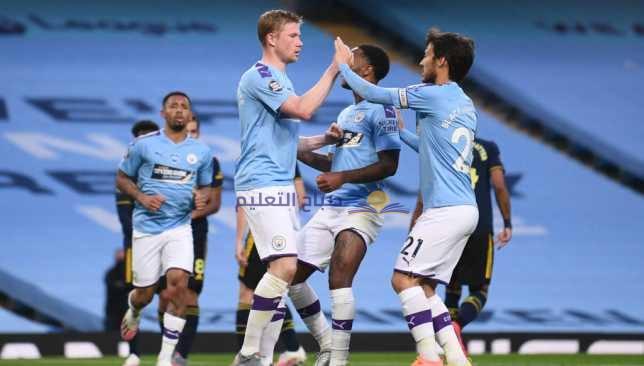 تشكيل مباراة مانشستر سيتي وساوثهامبتون في الدوري الإنجليزي