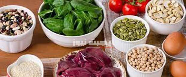 أطعمة تعزز نسبة الحديد في الدم