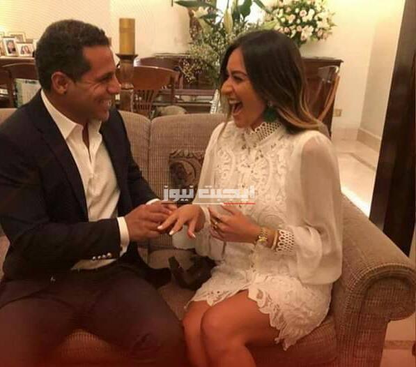 برنامج عرب وود ينشر صور خطوبه حفل أمينة خليل