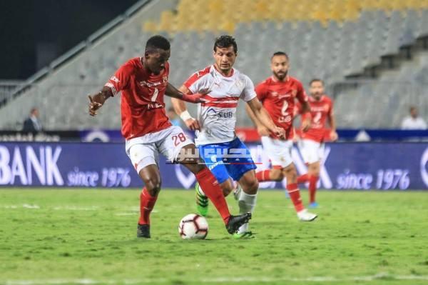موعد مباراة الأهلي والزمالك في الدوري المصري
