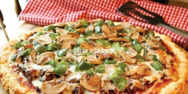 البيتزا الصحية بأسهل الطرق