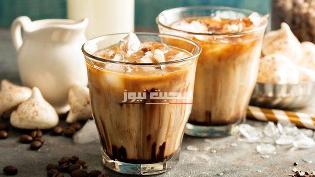 القهوة المثلجة في المنزل بأسهل الطرق