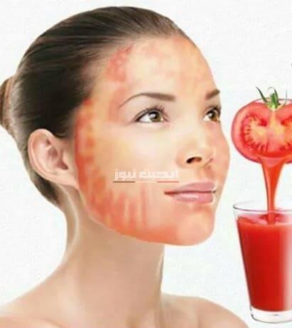 طريقة عمل تونر الطماطم والخيار للبشرة المختلطة
