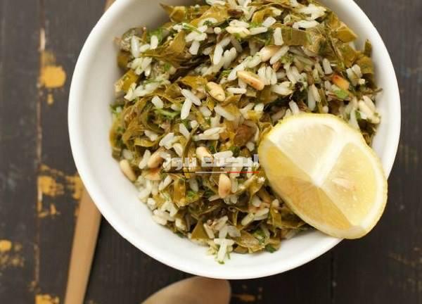 طريقة عمل سلطة ورق العنب بالأرز المصري