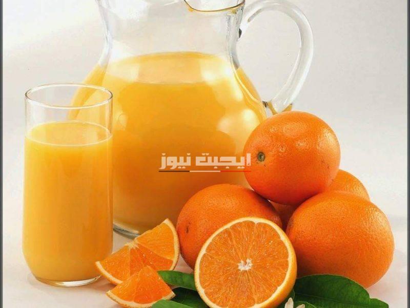 فوائد عصير البرتقال للصحة