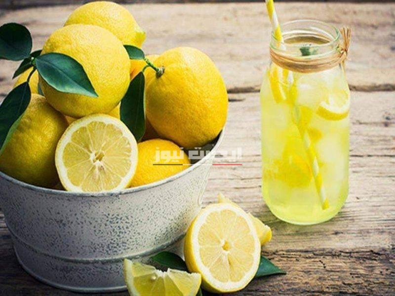 فوائد عصير الليمون بالقشر