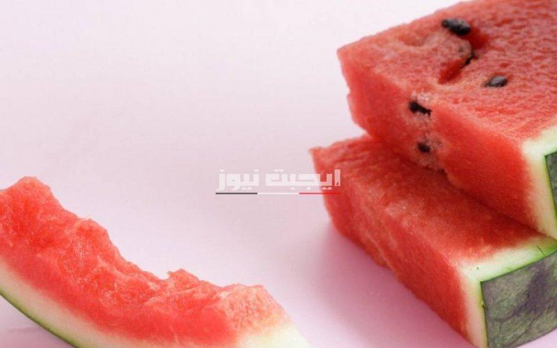 فوائد تناول قشرة البطيخ للجسم