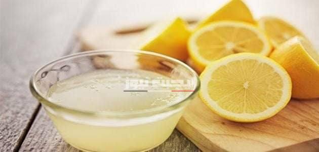 ماسك الألوفيرا وعصير الليمون للتقليل من إفراز الزيوت