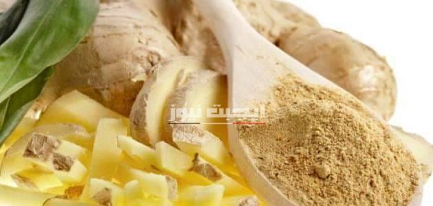 ماسك الزنجبيل وبياض البيض لتفتيح البشرة