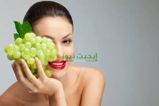 ماسك العنب والنعناع لإزالة الدهون الزائدة