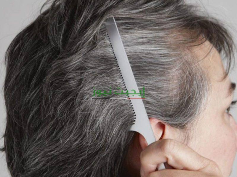 ماسك الكركديه للقضاء على الشعر الأبيض نهائياً