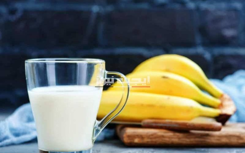 ماسك الموز واللبن لفرد الشعر ونعومته