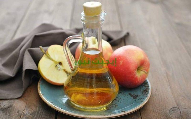 طريقة عمل ماسك خل التفاح مع الماء الدافئ للحماية من التجاعيد