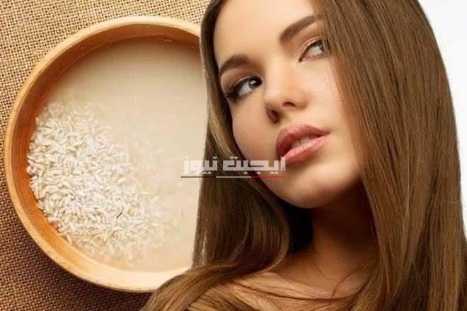 طريقة عمل ماسك ماء الأرز والعسل لنعومة ولمعان الشعر