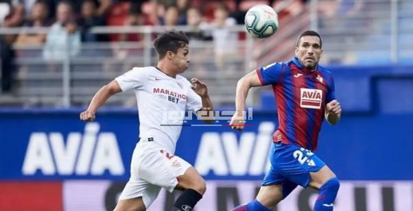 نتيجة مباراة اشبيلية وايبار الدوري الاسباني 6-7-2020