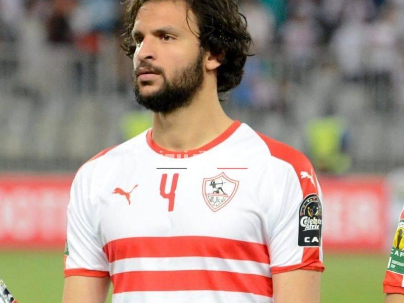 محمود علاء يغيب عن مواجهة الزمالك أمام الرجاء غدً