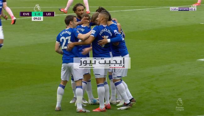 نتيجة مباراة ليستر سيتي وإيفرتون في الدوري الإنجليزي