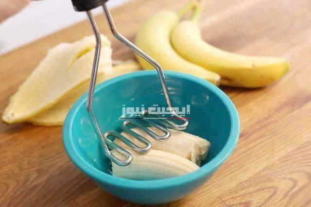 وصفة الموز وزيت اللوز لتحسين صحة البشرة