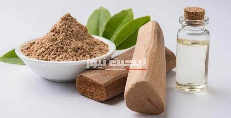 وصفة خشب الصندل والكركم لإمتصاص الزيوت الزائدة من البشرة الدهنية