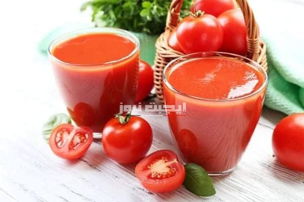 وصفة عصير الطماطم لجعل الأظافر سميكة ولامعة