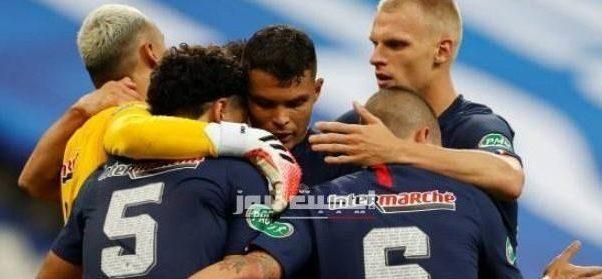 نتيجة مباراة باريس سان جيرمان وسانت إيتيان نهائي كأس فرنسا 24-7-2020