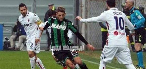نتيجة مباراة بولونيا وساسولو الدوري الايطالي 8-7-2020