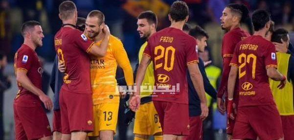 نتيجة مباراة روما وبارما الدوري الايطالي 8-7-2020