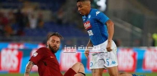 نتيجة مباراة روما ونابولي الدوري الايطالي 5-7-2020