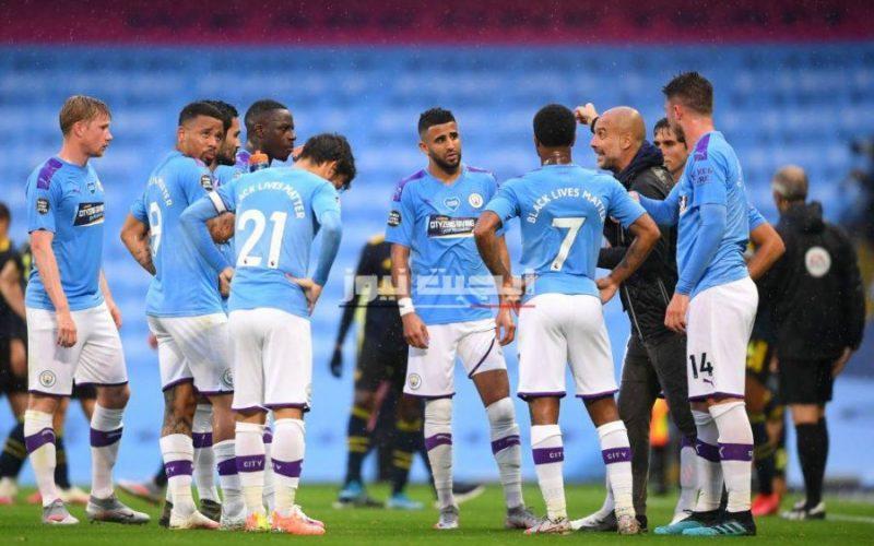 تشكيل مانشستر سيتي لمواجهة نورويتش سيتي في الدوري الإنجليزي