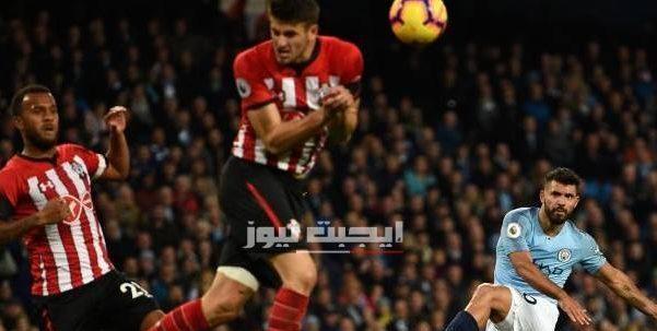 نتيجة مباراة مانشستر سيتي وساوثهامبتون الدوري الانجليزي 5-7-2020