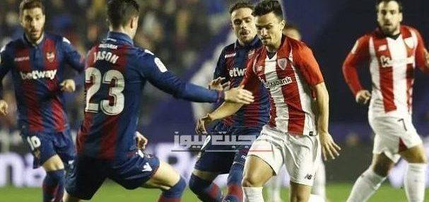 نتيجة مباراة أتلتيك بلباو وليفانتي الدوري الاسباني 12-7-2020