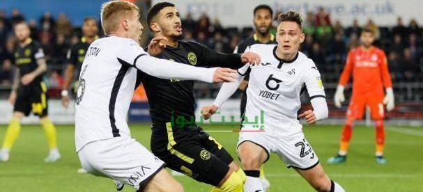 نتيجة مباراة برينتفورد وسوانزي سيتي نصف نهائي دوري البطولة الانجليزية 29-7-2020