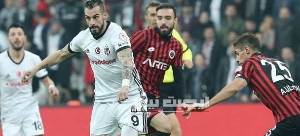 نتيجة مباراة بشكتاش وغينتشلاربيرليغي الدورى التركي 25-7-2020