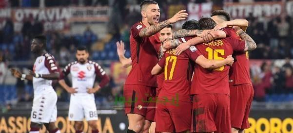 نتيجة مباراة روما وتورينو الدوري الايطالي 29-7-2020
