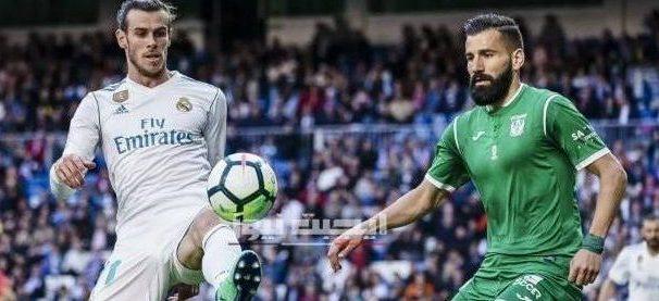 نتيجة مباراة ريال مدريد وليجانيس الدورى الاسباني 19-7-2020