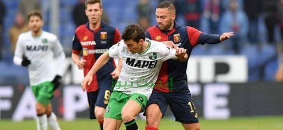 نتيجة مباراة ساسولو وجنوى الدوري الايطالي 29-7-2020